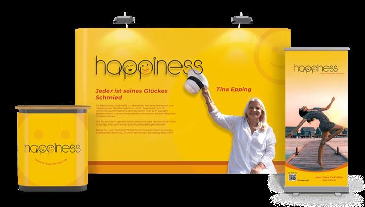 Happiness - Jeder ist seines Glückes Schmied.