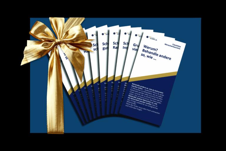 Potenzialwecker Checklisten Goody Bag Bild